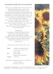 Einladung zum Qi Gong im Spätsommer